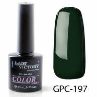 Цветной гель-лак Lady Victory, 7,3 ml GPC-197