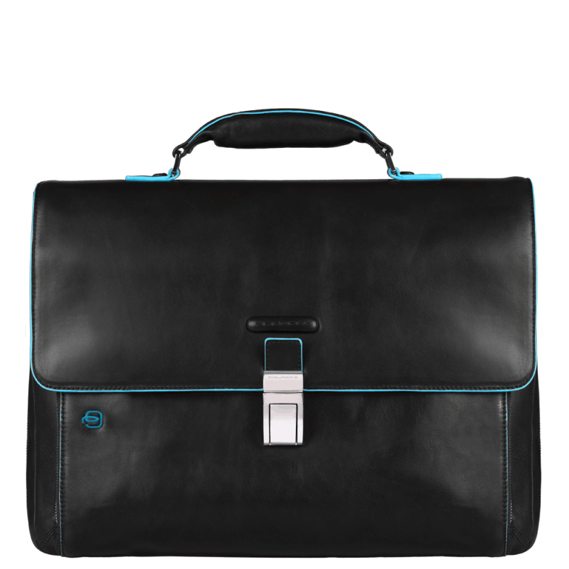 Портфель Piquadro CA3111B2/N кожаный черный