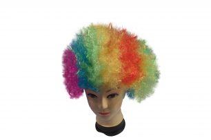 Парик клоунский разноцветный