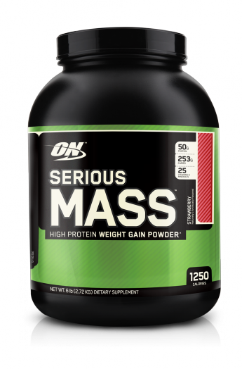 OPTIMUM NUTRITION Serious Mass 6lb (2,7кг.)   скл2 1-2дня