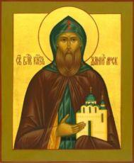 Икона Даниил Московский (рукописная)