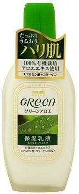Увлажняющее молочко от морщин Green Plus Aloe Moisture Milk Meishoku