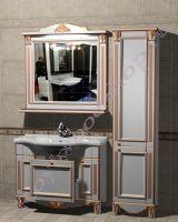 """Мебель в стиле прованс """"Руссильон PROVENCE-100 светлое дерево"""" с зеркалом"""