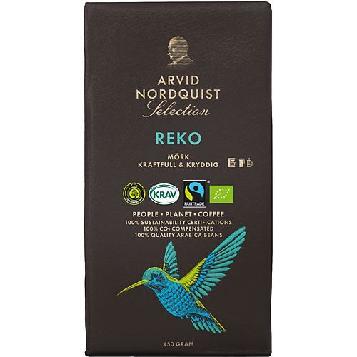 Arvid Nordquist Selection REKO кофе молотый 450 гр