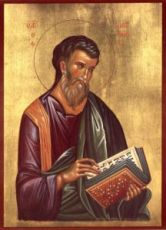 Матфей, апостол (рукописная икона)