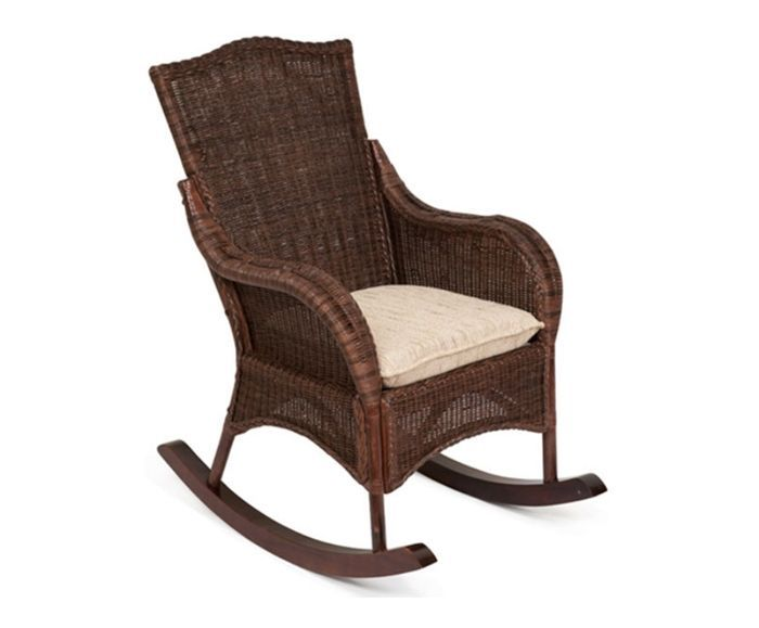 Кресло-качалка «Бали» (Bali 6147) нат.ротанг
