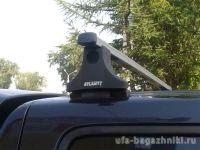 Багажник на крышу Ford Ranger, Атлант, прямоугольные дуги