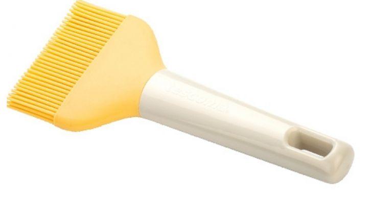 Кисточка для смазывания выпечки силиконовая широкая DELICIA Tescoma 630026