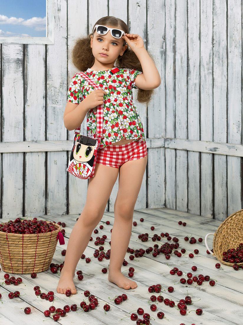 Пляжный комплект для девочек 6-7 лет