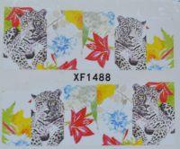 Водная наклейка для дизайна ногтей XF 1488