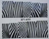Водная наклейка для дизайна ногтей XF 1499