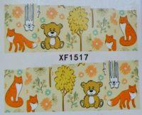 Водная наклейка для дизайна ногтей XF 1517