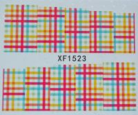 Водная наклейка для дизайна ногтей XF 1523