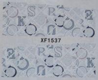 Водная наклейка для дизайна ногтей XF 1537