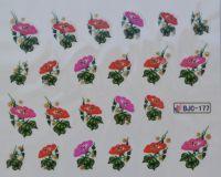 Водная наклейка для дизайна ногтей BJC - 177