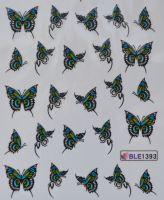 Водная наклейка для дизайна ногтей BLE 1393