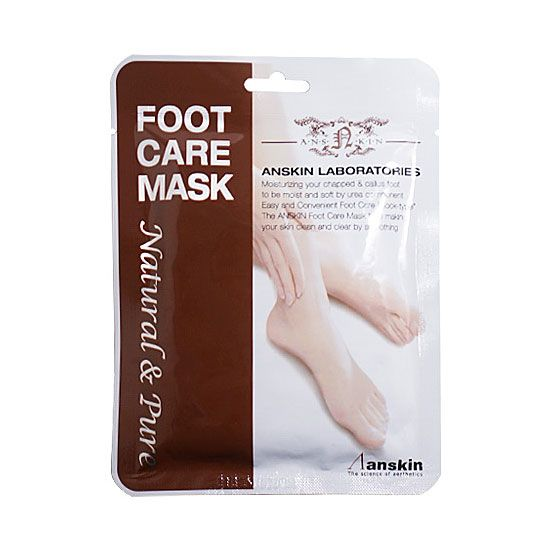 Корейская маска для ног Natural Pure Foot Care Mask Anskin