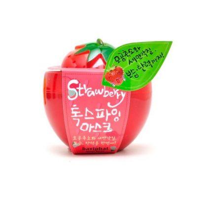 Корейская маска клубничная очищающая Strawberry Toxifying Mask Baviphat