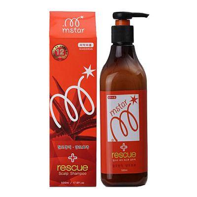 Корейский шампунь от выпадения волос Mstar Rescue Sclap Shampoo Gain Cosmetic