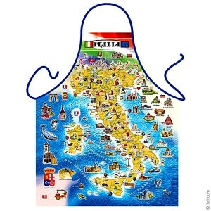"Фартук ""Карта Италии"""