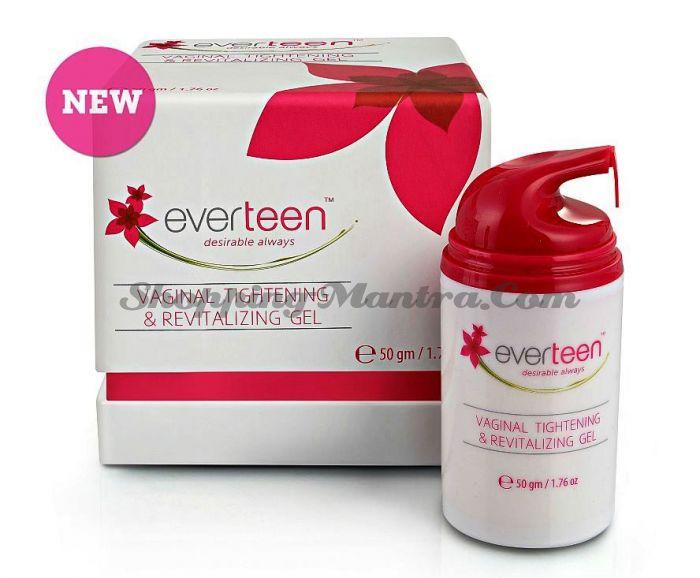 Интимный гель для сужения влагалища Эвертин / Wet&Dry Personal Care Everteen Vaginal Gel