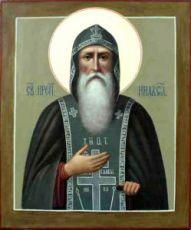 Икона Нил Столобенский (рукописная)