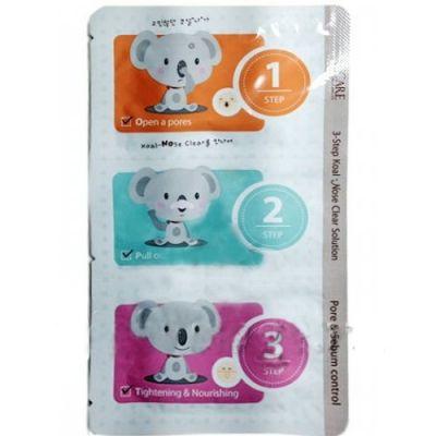 Корейский набор от черных точек 3-Step Koala Nose Clear Solution