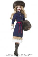 Коллекционная кукла Барби из России - Russia Barbie Doll
