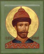 Икона Николай 2, царь (рукописная)