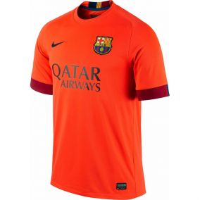 МАЙКА ИГРОВАЯ NIKE FCB SS AWAY STADIUM JSY