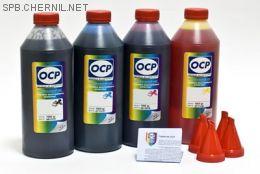 Чернила OCP для принтера и МФУ Canon MG2240, MG3240, MG3540, MG4240 (BKP44, C710, M710, Y710), картриджи PG-440, CL-441 комплект 1000 гр. x 4