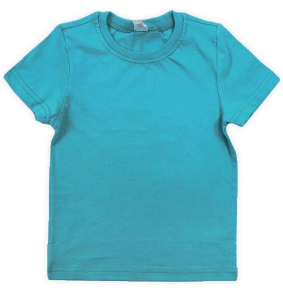Бирюзовая детская футболка Крокид