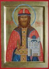 Икона Роман Рязанский (рукописная)