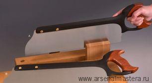 Пила столярная обушковая для продольного пила Veritas Tenon Rip Saw 16д 406 мм 9 tpi 05T14.01 М00008234