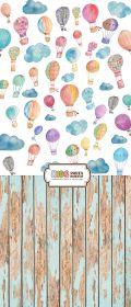 """Фон """"Balloons"""" 3x1,5 (3,5x1,5 м)"""