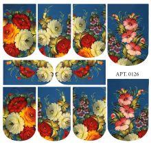 Слайдер-дизайн для ногтей № 0126