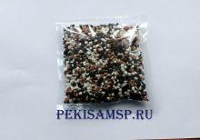 Глазурь КРОШКА ЛЮКС шоколадная 3-цветная 100г