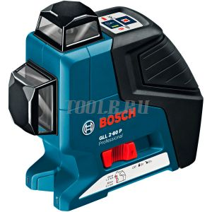 BOSCH GLL 2-80 P + вкладка под L-Boxx - лазерный нивелир