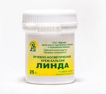 Лечебно-косметический крем-бальзам Линда 25гр