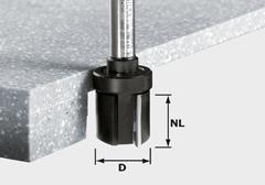 Пригоночная фреза HW, хвостовик 12 мм HW D28/25 ss S12