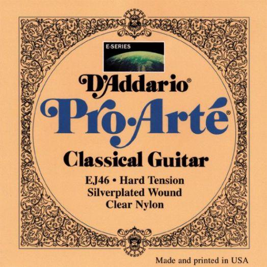 D`ADDARIO EJ-46 Струны для классич. гитары (сильное натяжение)