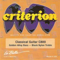LA BELLA C800 Criterion Струны для классич. гитары (нормальное натяжение)