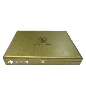Подарочная коробка для прямоугольной иконы размером 15*21см.