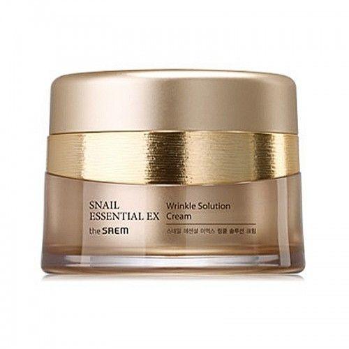Корейский крем антивозрастной Snail Essential EX Wrinkle Solution Cream Saem