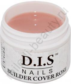 D.I.S. Гель Builder Cover Rose 60гр (Моделирующий Камуфляж Роза)