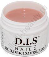 D.I.S. Гель Builder Cover Rose 30гр (Моделирующий Камуфляж Роза)