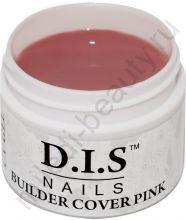 D.I.S. Гель Builder Cover Pink 30гр (Моделирующий Камуфляж Розовый)