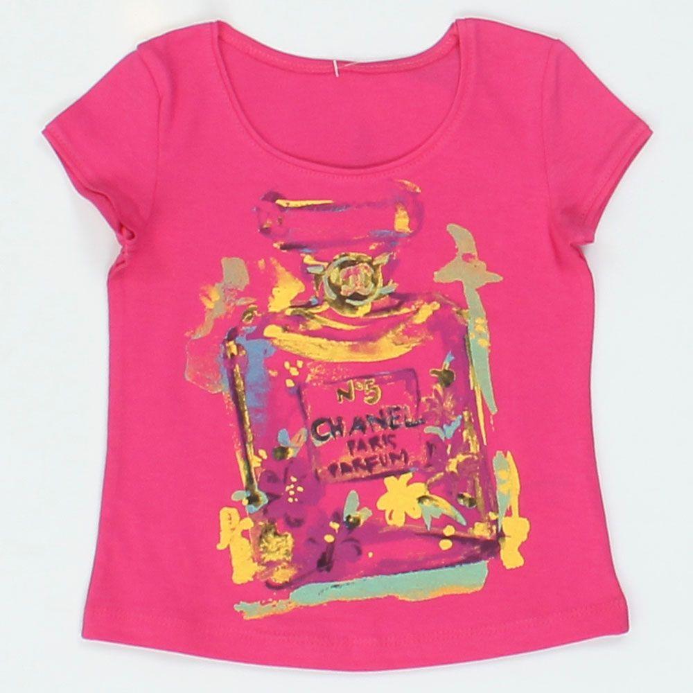 Блуза для девочки Шанель № 5