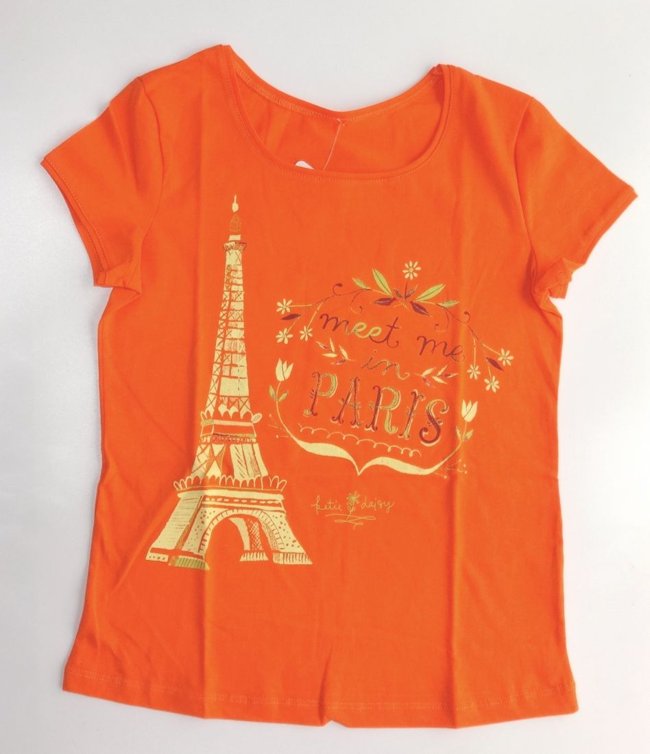 Блуза для девочки Оранж