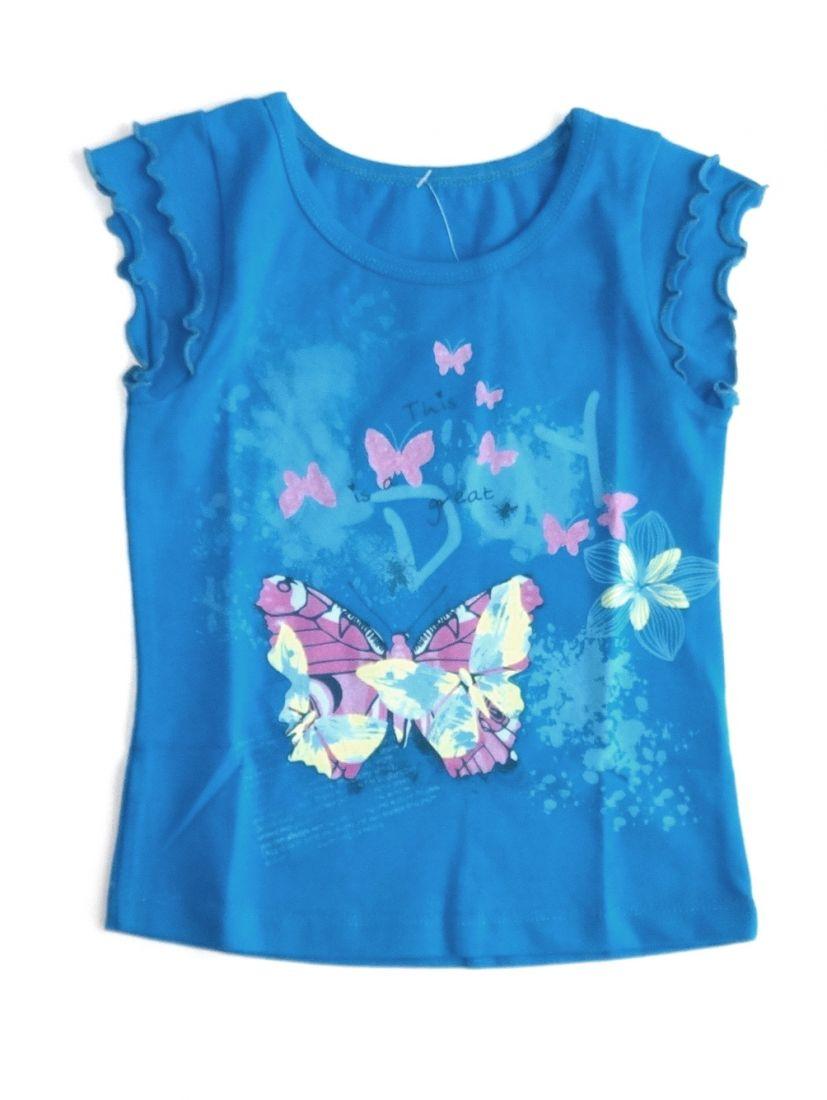 Блуза для девочки Бабочка